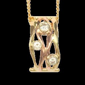 Ross Haynes Designs style: 5827 with diamonds