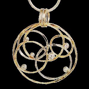 Ross Haynes Designs style: 5365-5 with diamonds
