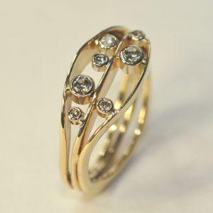 Ross Haynes Designs style: 713 with diamonds