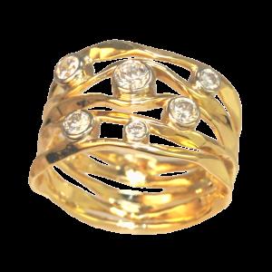 Ross Haynes Designs style: 725 6 Diamonds